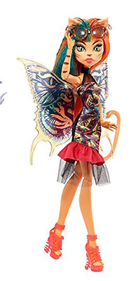 Monster High Garden Ghouls Wing Toralei Doll Brand New