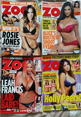 Set Of 4 O.o.p Zoo Top Models Magazines Free Uk P&p