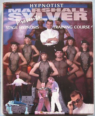 Stage Hypnosis Training Course By Marshall Sylver (9 Disc Set) - Rare!!