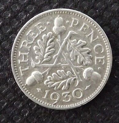 1930 George V Silver 3d