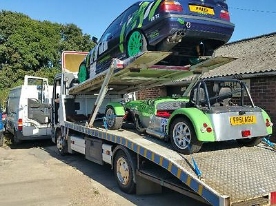 ford iveco 7.5 lorry 2 car transporter