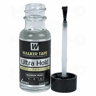 Ultra Hold Lace Wig Glue 0.5oz Lace Glue With Brush Walker Tape