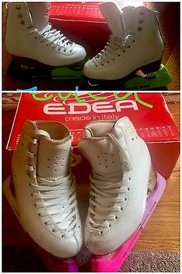 Two Edea Ice Skates Over Ture 200 Jackson Ice Skates Freestyle 7.5