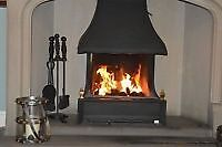 Rayburn/Aga Rembrant cast iron open fire