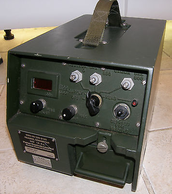 Ministry of Defence Radiation Dosimeter by Fisher controls. 6665-99-225-2149 MOD