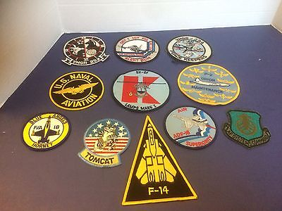 Lot of US Navy Air Force Air National Guard Patches