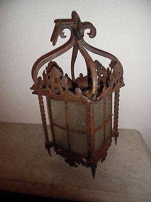 Victorian Cast Metal - Country House Porch/hall Lantern