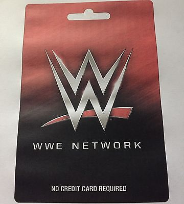 WWE Network LIFETIME Card Access, SALE PRICE LIMITED STOCK!!!