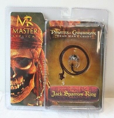 Pirates of the Caribbean Dead Man's Chest Jack Sparrow Ring MASTER REPLICA FSNIP