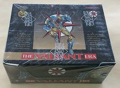 1993 Upper Deck The Valiant Era 1st Series Trading Cards Wax Box