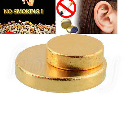 Quit Smoking Stop Smokeing Ear Auricular Magnet Therapy Acupressure Health Care