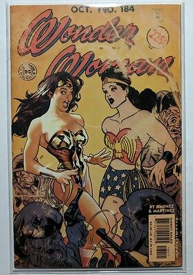 Wonder Woman #184 (Oct 2002, DC)