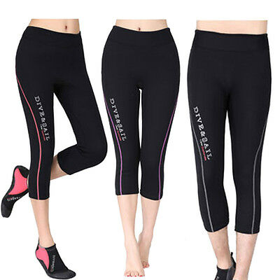 1.5mm Neoprene Scuba Snorkeling Diving Wetsuit Cropped Trousers Pants