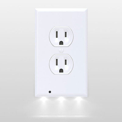 Cyres Internet Mall 10 SnapPower Guidelight LED Night Light Outlet Duplex White