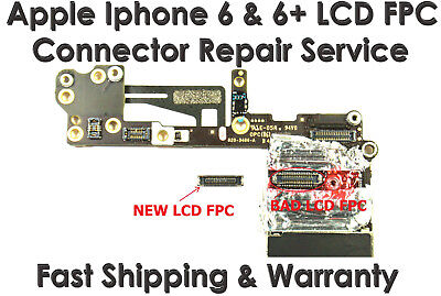 Apple Iphone 6 6S LCD Digitizer FPC Connector Repair Service