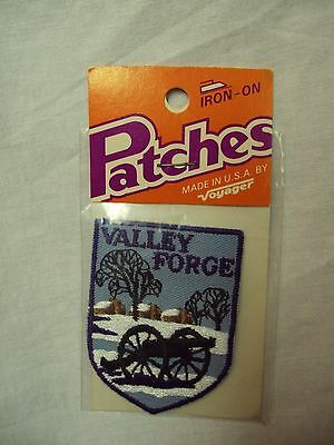 Vtg Voyager VALLEY FORGE, PA   - Embroidered PATCH