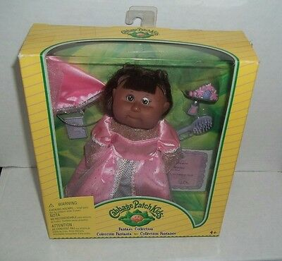 Cabbage Patch Kids Fantasy Collection African American Doll Pink Princess Gown