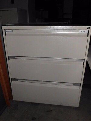 Office 3 X Drawer Lateral Filing Cabinet Brisbane