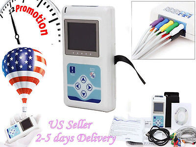 TLC5000 FDA 12-channel ECG/EKG Holter System/Recorder Monitor ​Analyzer Software