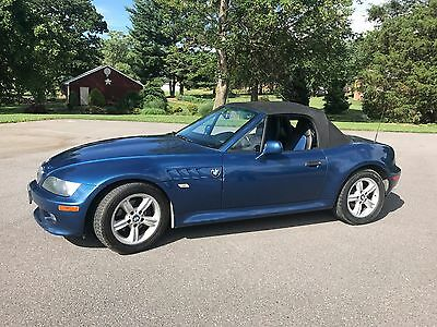 2001 BMW 3-Series  2001 BMW Z3 6 CYLINDER CONVERTIBLE ROADSTER COLLECTORS SPORTS CAR