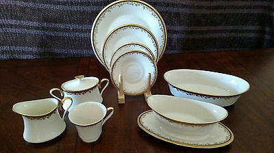 Lenox Eclipse Fine China Dinner Set (12 place settings plus