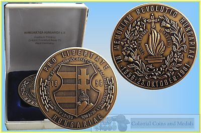 Hungary 1981 Bronze Medal for the 25th Anniversary of the Revolution 1956-81