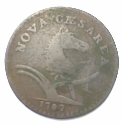 1787 New Jersey Colonial Copper cent