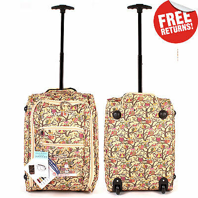 Lightweight Wheeled Hand Luggage Travel Carry On Cabin Suitcase Bag Ryanair