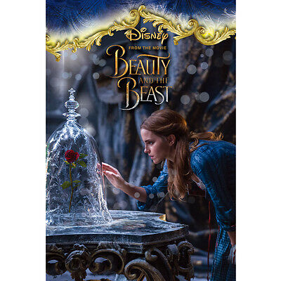 "Disney Beauty and the Beast ""Bell and Rosedome"" 3D Lenticular Card / 3D Postcard"