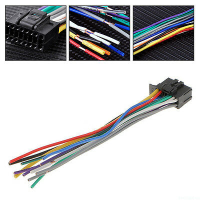 For Pioneer 2350 16 Pin Radios Wire Harness Car Stereo Radio Replace Plug RM7