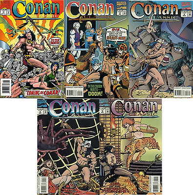 Conan Classic #1-5 Set all VF-NM