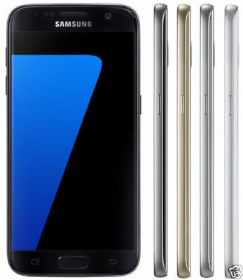 New 5.1'' Samsung Galaxy S7 SM-G930A 32GB 12MP AT&T Unlocked Android Smartphone