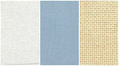 DMC 25 count Evenweave Fabric for cross stitch-Assorted Colours and Sizes