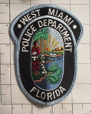 West Miami Police Dept Patch  - Florida