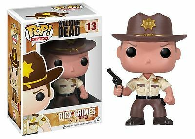 Funko Pop! - Rick Grimes Figura 10cm - The Walking Dead - Producto Oficial
