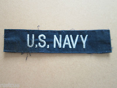 US Military US Navy Woven Cloth Patch Badge