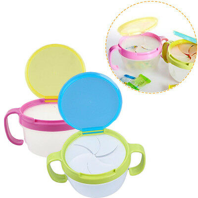 Candy Cup Snacks Holder Baby Food Storage Bowls Feeding Container Anti Spill