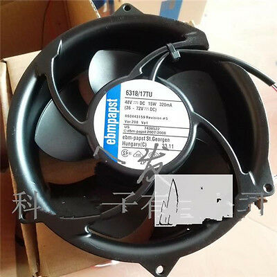 1pcs ebmpapst 17251 48V 15W 17cm 6318 / 17TU for Siemens Inverter Fan