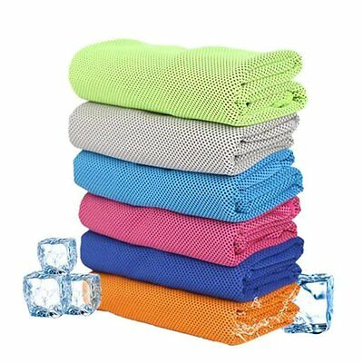 ROMIX Sport Cooling Gym Towel For Workout  Fitness Yoga Exercise Travel 30*90CM