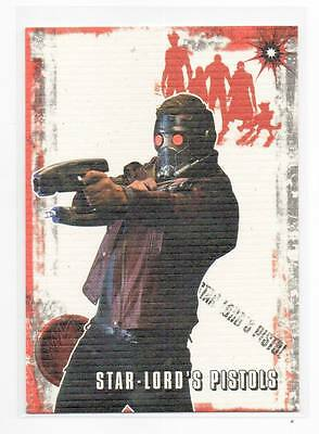 2014 Upper Deck Guardians of the Galaxy Boom Weapons 5 Star-Lord's Pistols