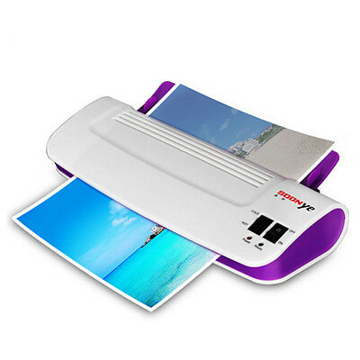 Thermal Office Hot and Cold Laminator Machine for A4 Document Photo Film Roll