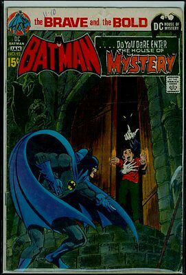 DC Comics The BRAVE And The BOLD #93 BATMAN & The House Of Mystery VG 4.0