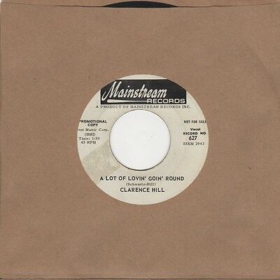 Clarence Hill - A Lot Of Lovin Goin Round / When Sonny Comes Strollin Home - Mai