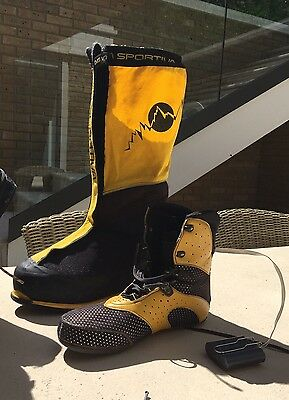 LA SPORTIVA OLYMPUS MONS EXPEDITION BOOTS UK 12 Euro 47