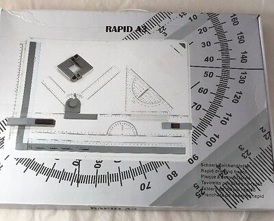 Rapid A3 Drawing Board And Accessories