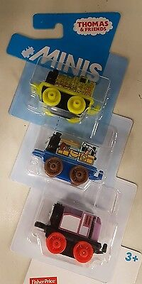 Thomas and Friends minis 3 pack: Snake Henry Construction Victor Classic Rosie