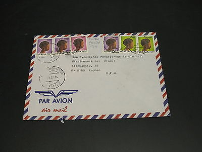 Burkina Faso 1994 airmail cover to France *5799