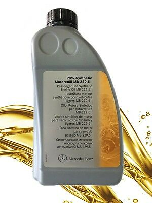 Genuine Mercedes-Benz MB229.5 Engine Oil Synthetic Petrol 1L