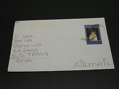 Trinidad Tobago 1999 cover to Estonia *5354
