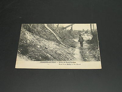 UK 1918 censored fielpost postcard *4723